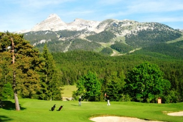 GOLF CORRENCON EN VERCORS