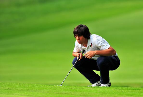 competition de golf manassero golfeur italien newtee.com