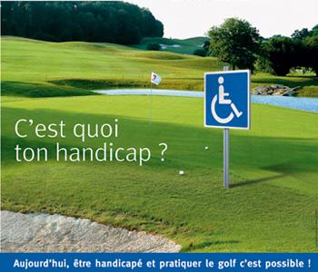 cours de golf etre handicape et jouer au golf newtee.com